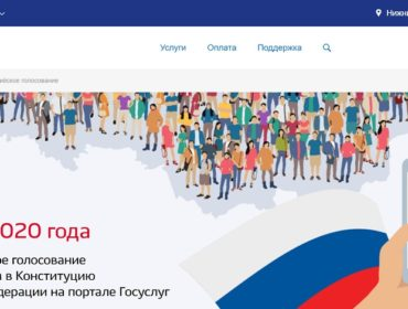Почти половина нижегородцев готовы голосовать по поправкам в Конституцию дистанционно